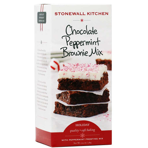 Stonewall Kitchen - Chocolate Peppermint Brownie Mix, 22.5oz