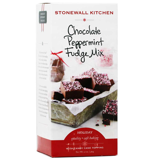 Stonewall Kitchen - Chocolate Peppermint Fudge Mix, 17oz