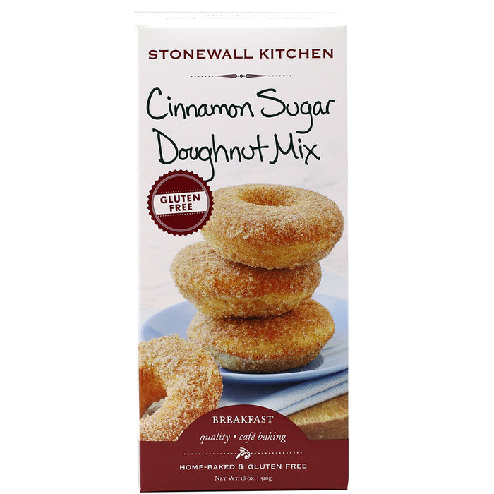 Stonewall Kitchen - Gluten-Free Cinnamon Sugar Doughnut Mix, 18oz