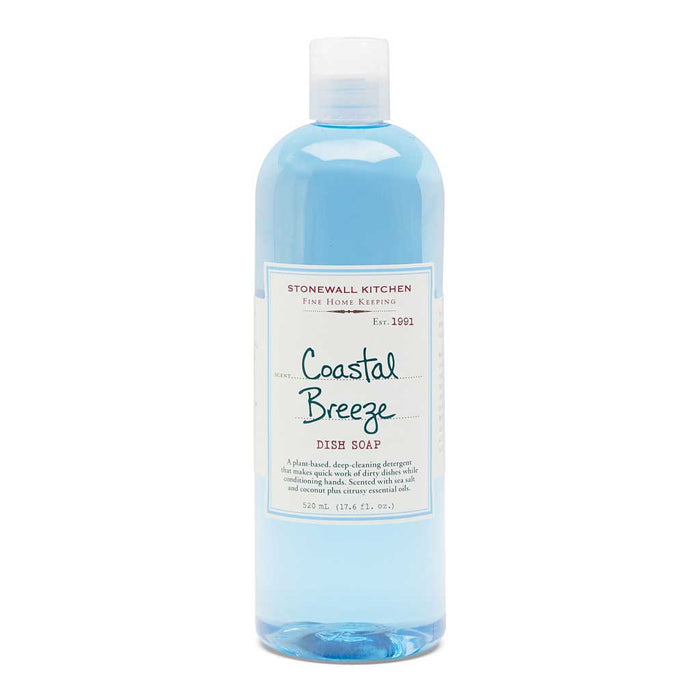 Stonewall Kitchen - Coastal Breeze Dish Soap, 17.6 Fl oz