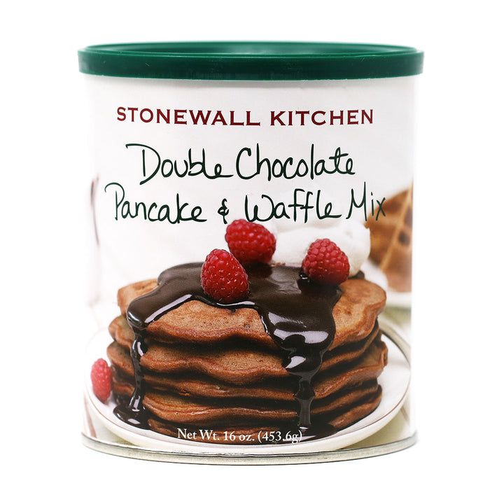 Stonewall Kitchen - Double Chocolate Pancake & Waffle Mix, 16oz