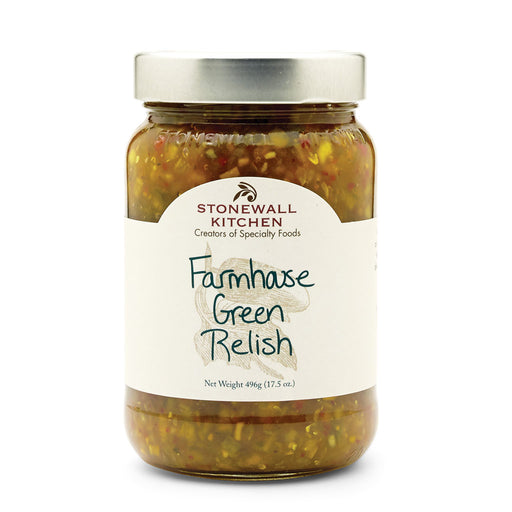 Stonewall Kitchen - Farmhouse Green Relish, 17.5oz (496g)