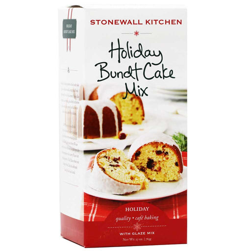 Stonewall Kitchen - Holiday Bundt Cake Mix, 27oz