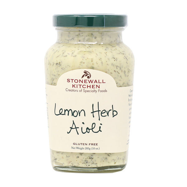 Stonewall Kitchen - Lemon Herb Aioli, 10oz