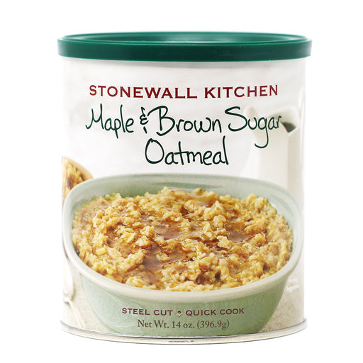 Stonewall Kitchen - Maple & Brown Sugar Steel Cut Oatmeal, 14oz