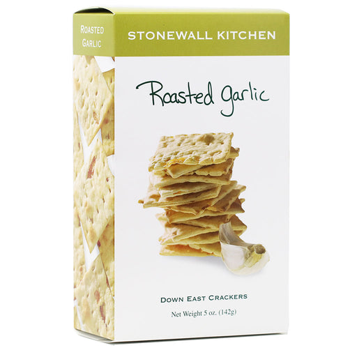 Stonewall Kitchen - Roasted Garlic Crackers, 5oz