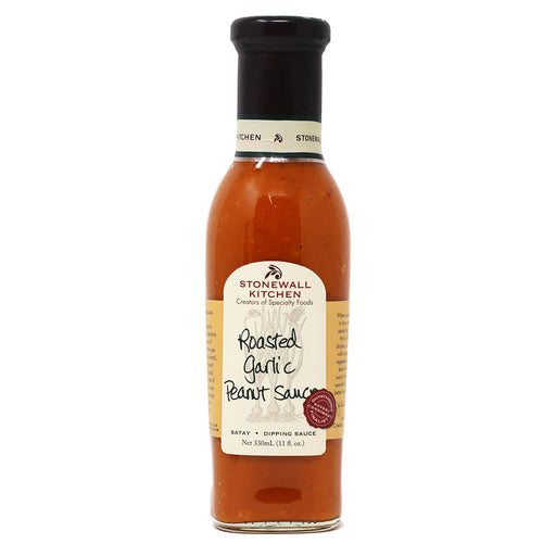 Stonewall Kitchen - Roasted Garlic Peanut Sauce, 11oz