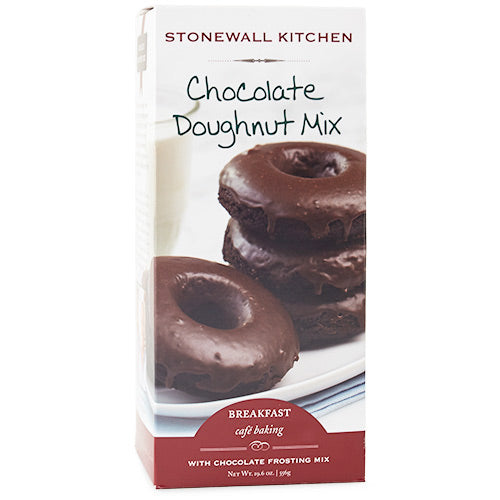 Stonewall Kitchen - Chocolate Doughnut Mix with Chocolate Frosting, 19.6oz