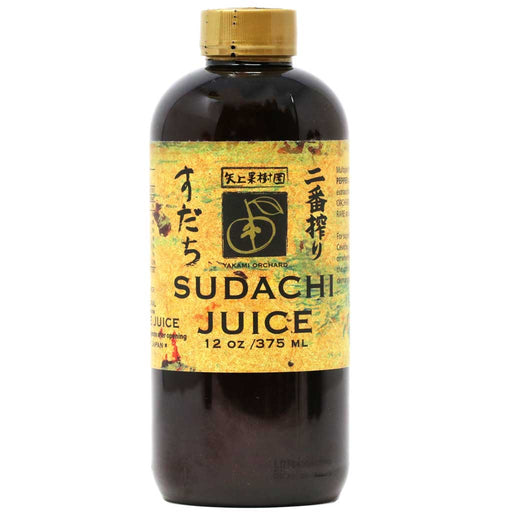 Yakami - 100% Pure Sudachi Juice, All Natural, 12oz (375 ml)