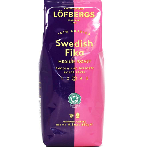 Lofbergs - 100% Arabica Swedish Ground Coffee, Medium Roast, 8.8oz