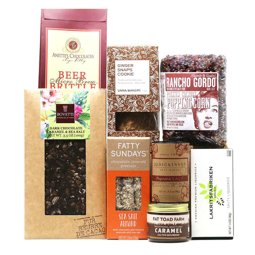 Sweet & Salty Munchies Gift Box-myPanier