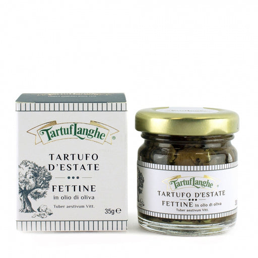 Tartuflanghe - Summer Truffle Slices in Olive Oil, 1.2oz (35g)