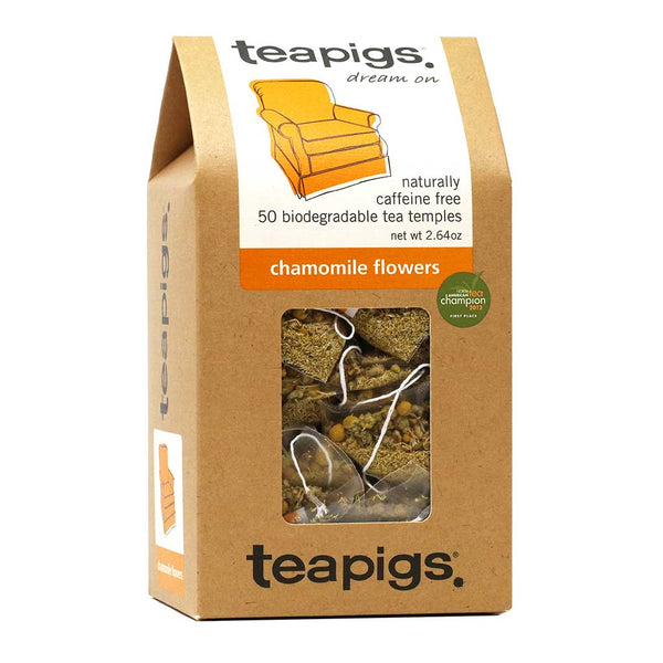 Teapigs - Whole Chamomile Flowers Tea, 50-Bag