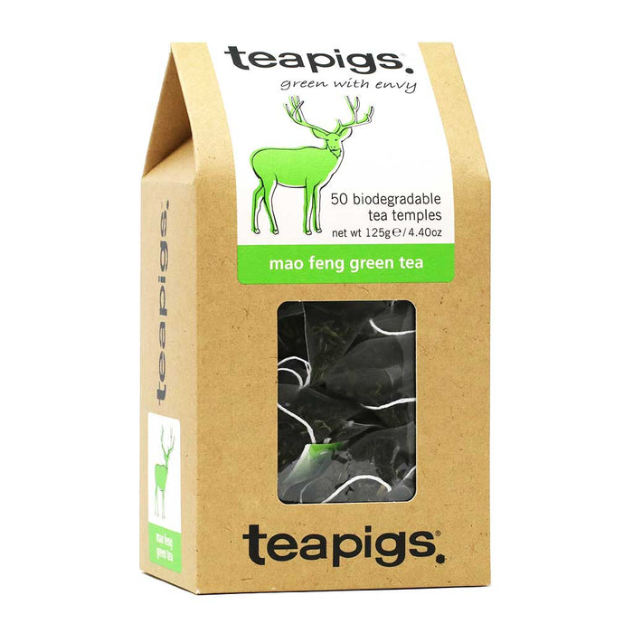 Teapigs - Mao Feng Green Tea, 50-Bag
