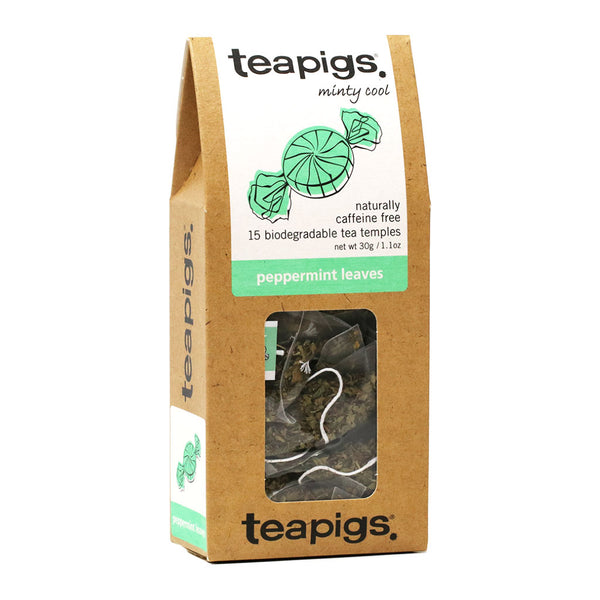 Teapigs - Peppermint Leaves Tea, 15-Bag