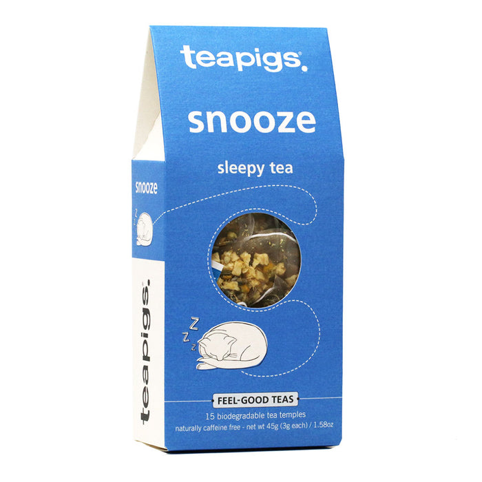 Teapigs - Snooze Herbal Chamomile Tea, 15-Bag