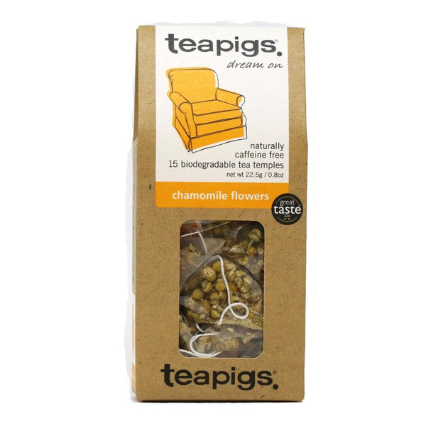 Teapigs - Whole Chamomile Flowers Tea, 15-Bag