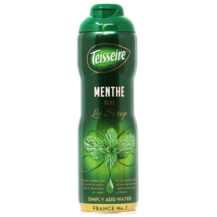 Teisseire - Mint Syrup, 60cl (20.3 fl oz)