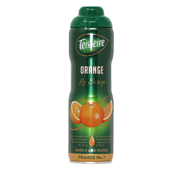 Teisseire - Orange Syrup, 60cl (20.3 fl oz)