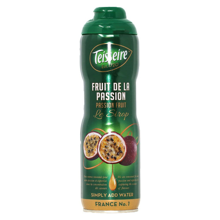 Teisseire - Tropical Passionfruit Syrup, 60cl (20.3 fl oz)