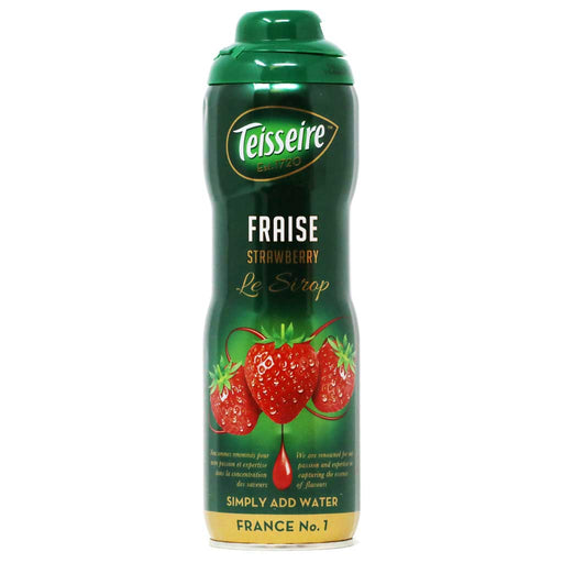Teisseire - Strawberry Syrup, 60cl (20.3 fl oz)