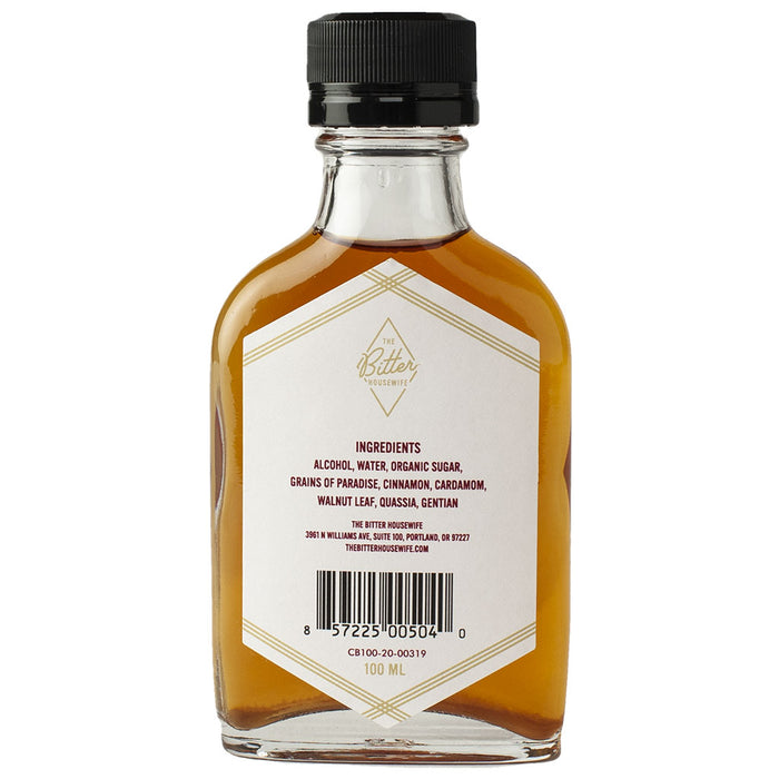 The Bitter Housewife - Cardamom Bitters, 3.4oz (100ml)