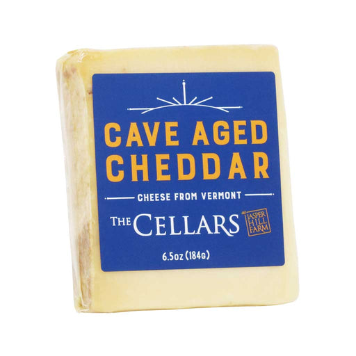 Jasper Hill Farm - Cave Aged Cheddar Cheese, 6.5oz (184g)