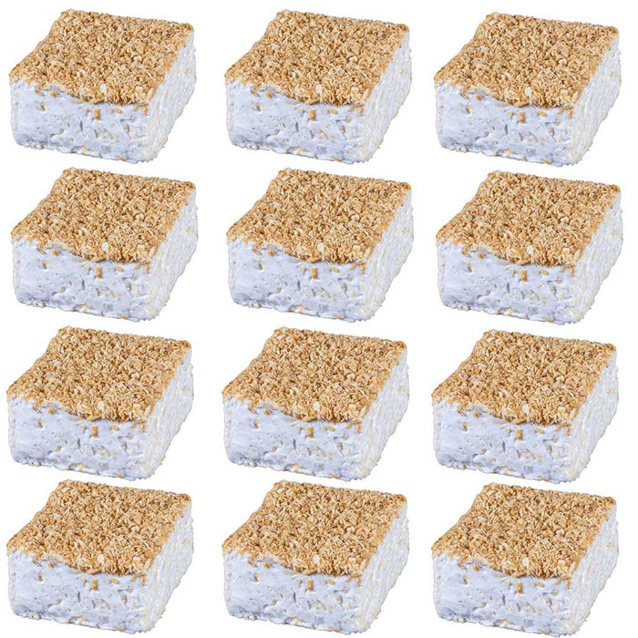 The Crispery Handmade Marshmallow Rice Crispy Treats, 6oz (Toasted Coconut)