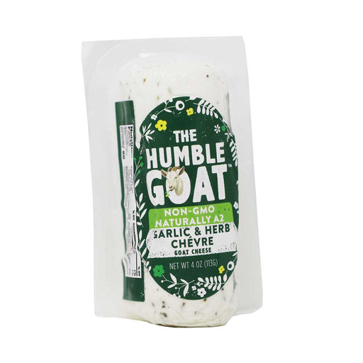 Humble Goat - Garlic & Herb Chevre, 4oz
