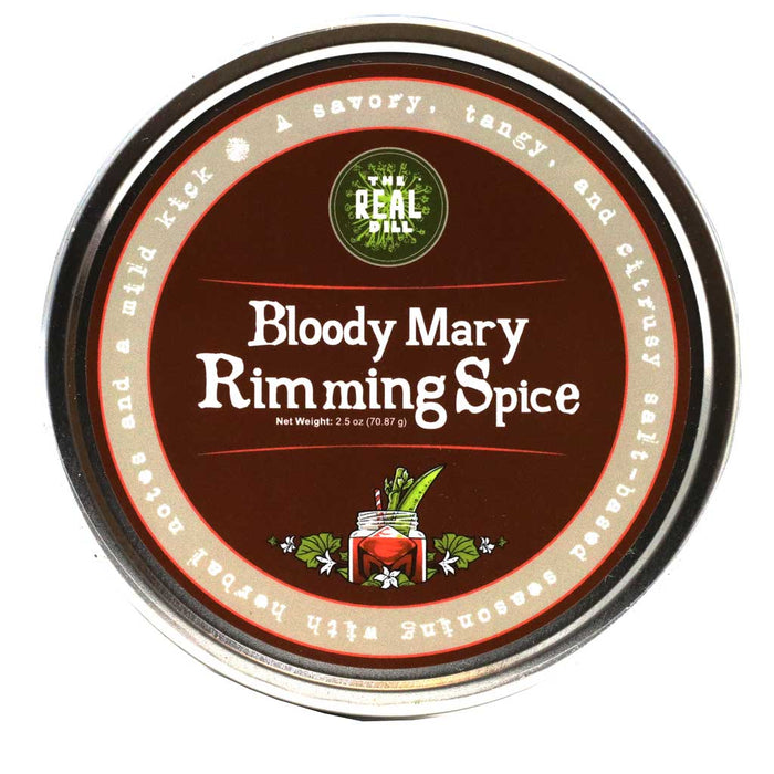 The Real Dill - Bloody Mary Rimming Spice, 2.5oz (71g)