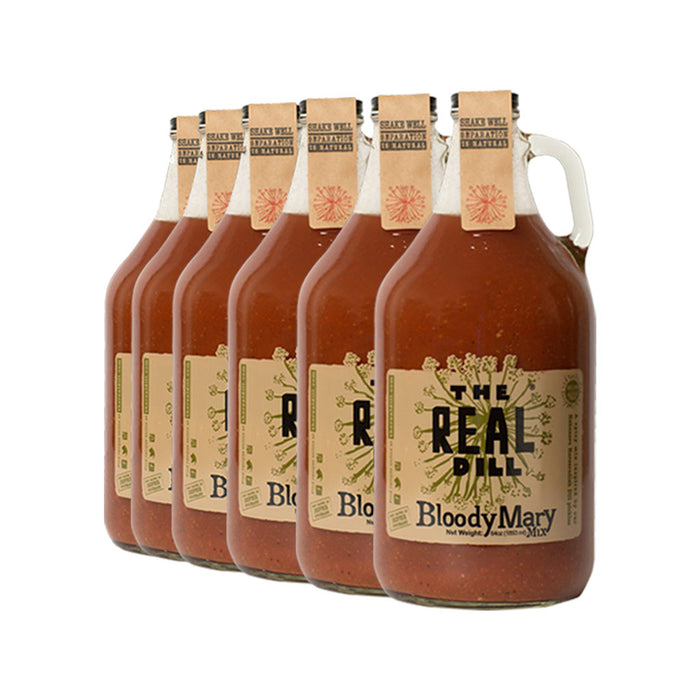 The Real Dill - Bloody Mary Mix, 64oz Growler