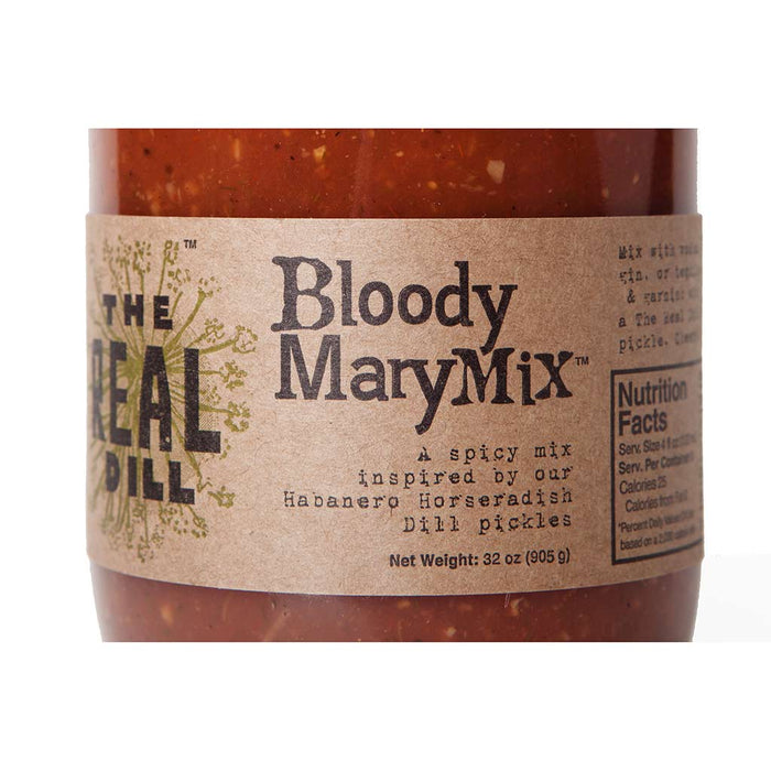 The Real Dill - Bloody Mary Mix, 32oz Jar