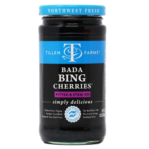Tillen Farms - Bada Bing Cherries, 13.5oz