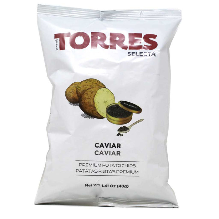 Torres - Caviar Potato Chips, 1.4oz