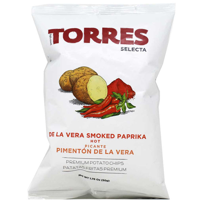 Torres - Smoked Paprika Potato Chips, 50g