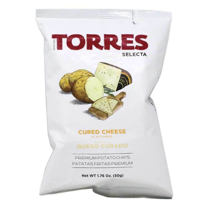 Torres - Cured Cheese Premium Potato Chips, 1.76oz (50g)
