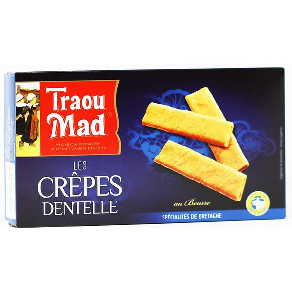 Traou Mad - Crepe Dentelles French Cookies, 85g (3oz)