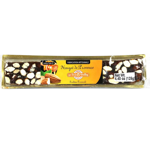 Trois Abeilles – Hard Nougat Bar from Provence, 125g