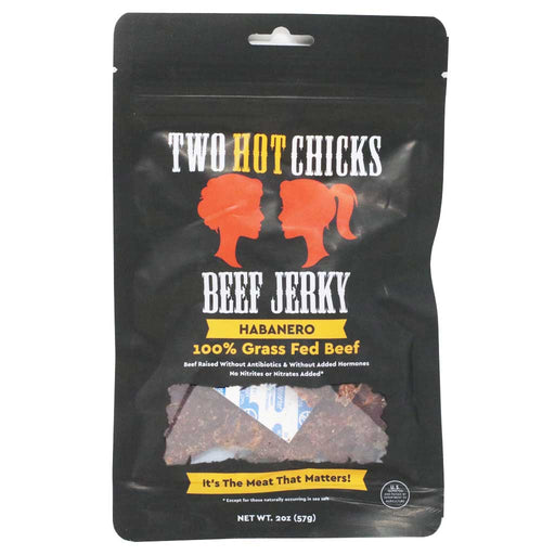 Two Chicks Jerky - Habanero Beef Jerky, 2oz