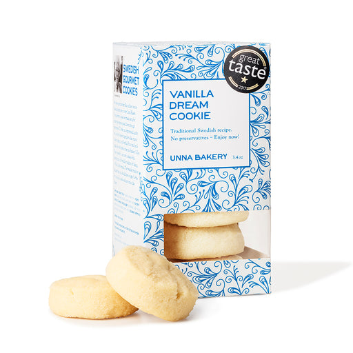 Unna Bakery - Vanilla Dream Swedish Cookies, 3.4oz