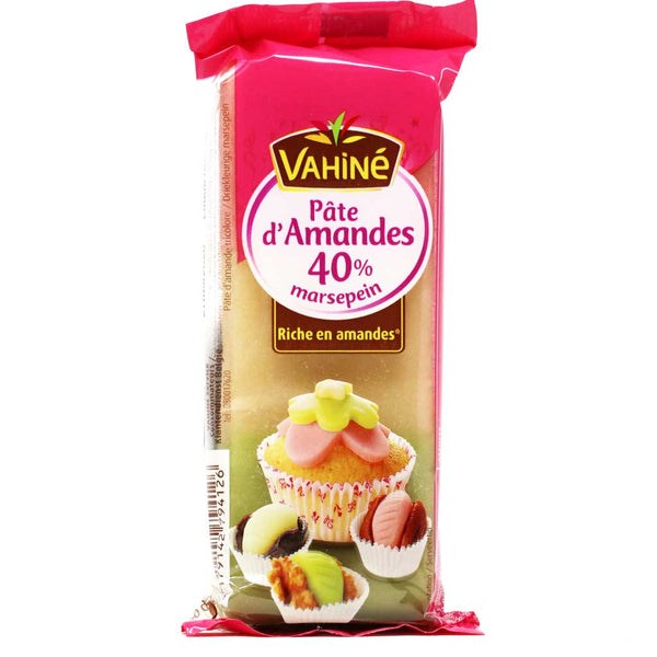 Vahine - Almond Paste, 40% Almond, 125g (4.4 oz)