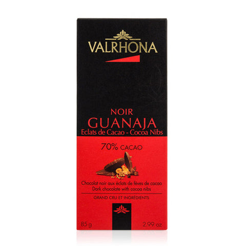 Valrhona Guanaja - Grand Cru 70% Dark Chocolate Bar, 85g (3oz)