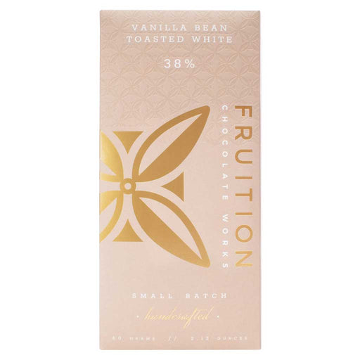 Fruition Chocolate Works - Vanilla Bean Toasted White Bar, 2.12oz (60g)