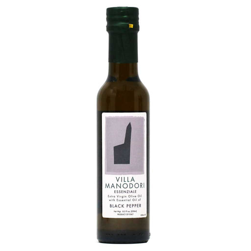 Villa Manodori - Essenziale Black Pepper Extra Virgin Olive Oil, 250ml
