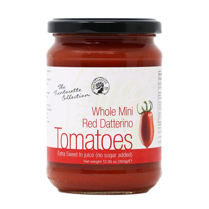 Mini Red Datterino Tomatoes in Juice, 350g (12.4oz)