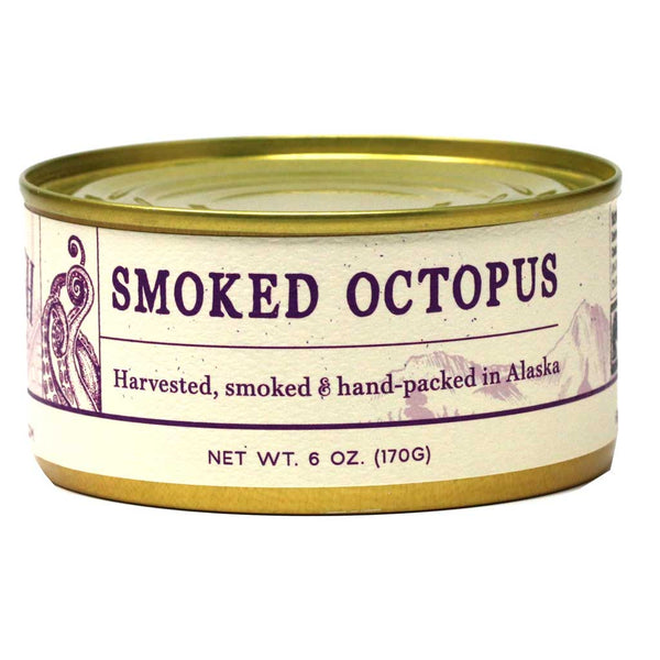 Wildfish Cannery - Smoked Octopus All Natural, 6oz Can