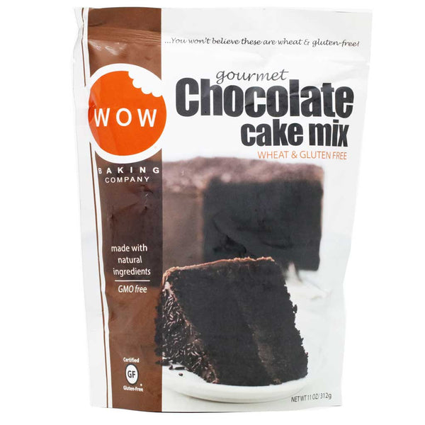 WOW Baking Company - Chocolate Cake Mix, 11oz