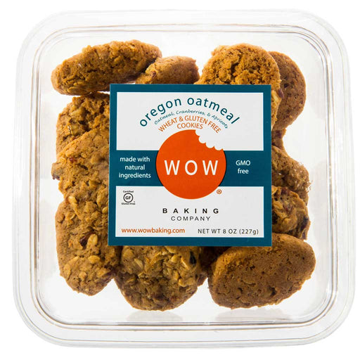 WOW Baking Company - Oregon Oatmeal Cookies, 8oz Tub