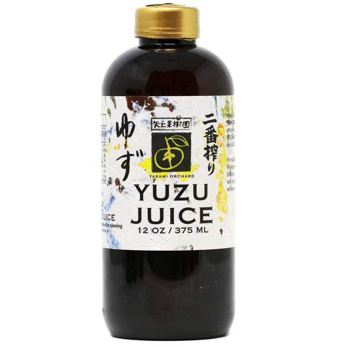 Yakami - 100% Pure Yuzu Juice, All Natural, 12oz (375ml)