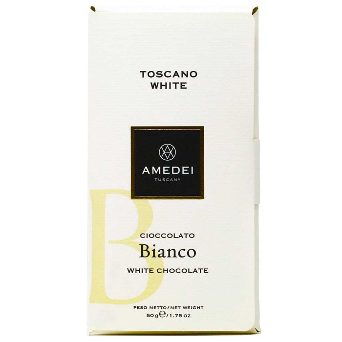Amedei - White Chocolate Bar, Toscano Bianco, 50g